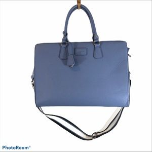 Blons Brand Blue Laptop Bag Large Padded